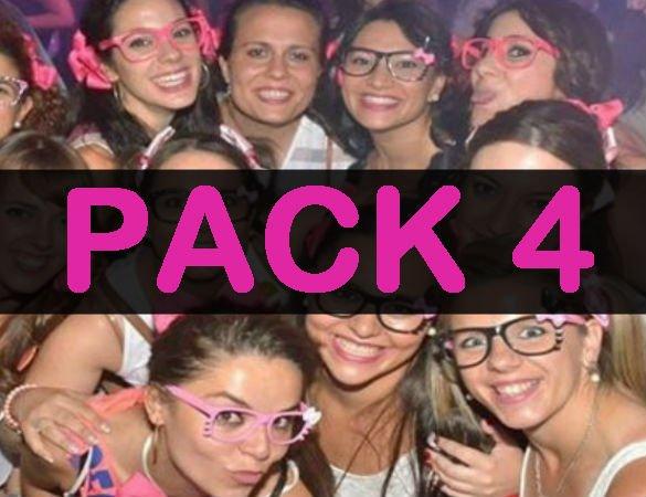 pack 4 despedida de soltera