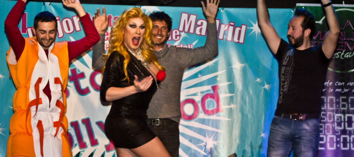 Drag queen en despedida de soltero Madrid