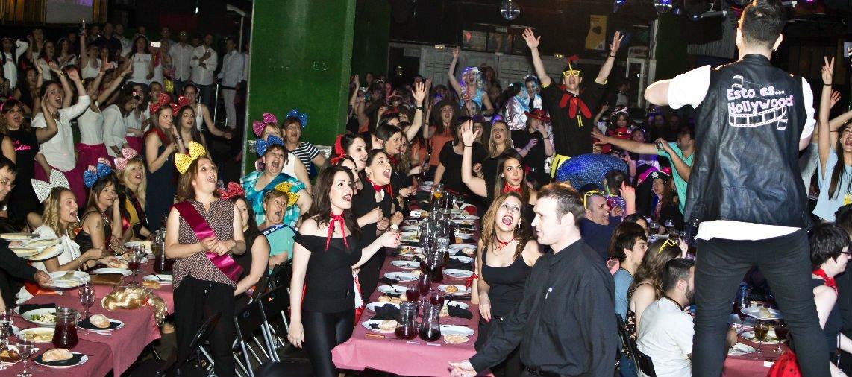 Cena de despedida de solteros Madrid