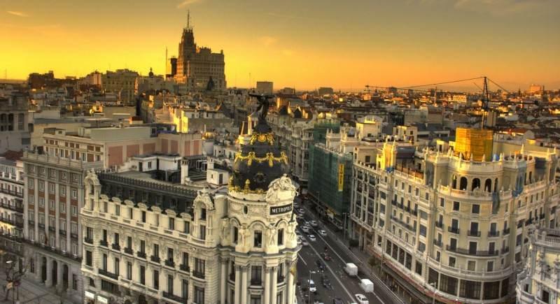 zona centro de Madrid