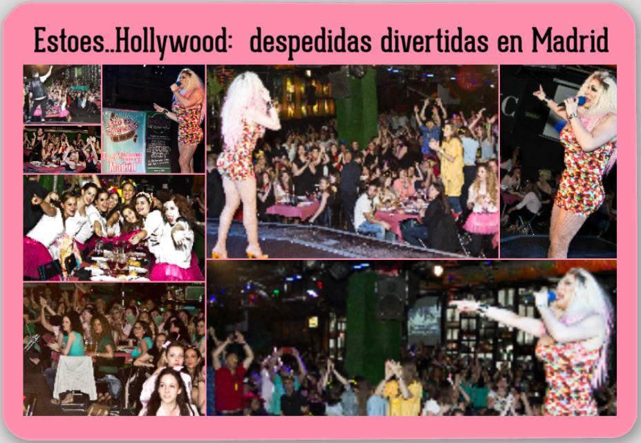 foto despedida de soltera en Madrid divertida con Drag Queen