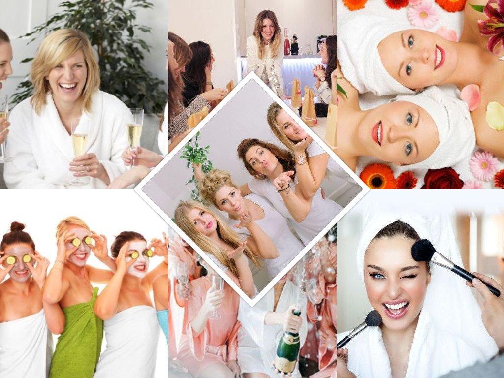 fiesta para despedida beauty party